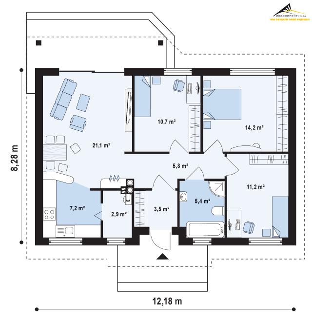 Проекты домов в 3D